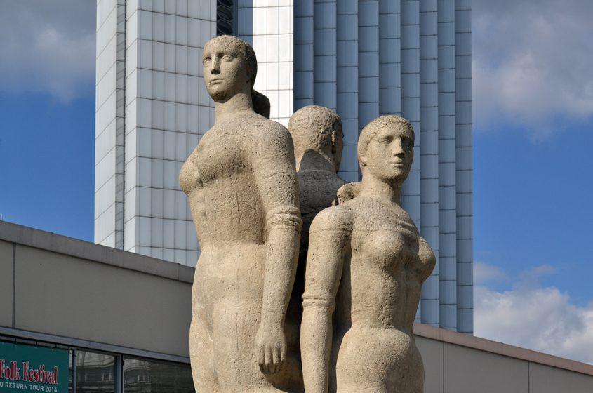 Chemnitz, Stadthalle, Gerd Jaeger, Würde, Schönheit und Stolz des Menschen im Sozialismus