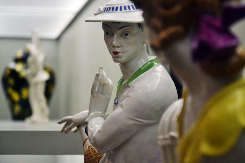 Grassi Museum für Angewandte Kunst Leipzig, Pfeifer aus der Aeltesten Volkstedter Porzellanfabrik