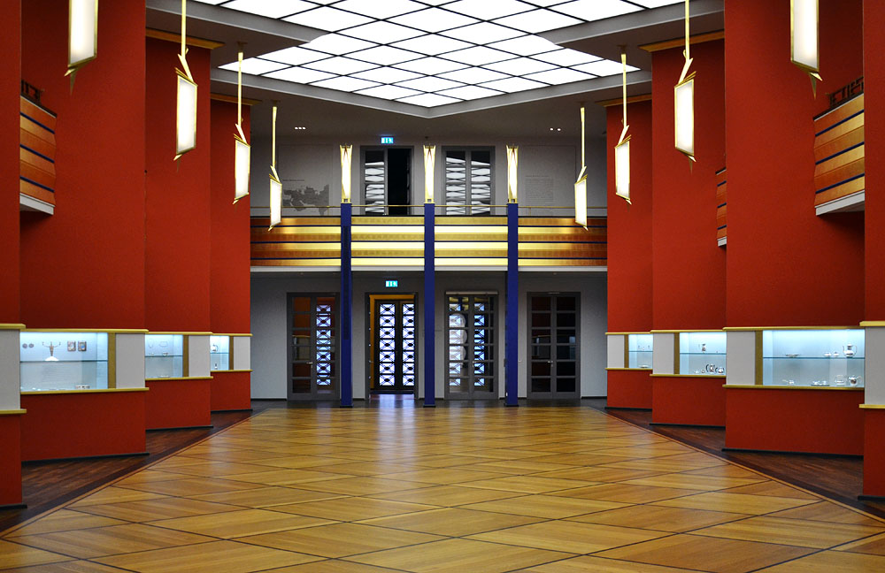 Grassi Museum für Angewandte Kunst Leipzig, Pfeilerhalle