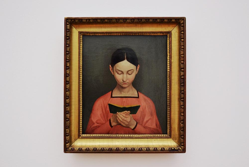 Museum der bildenden Künste Leipzig, Gustav Adolph Hennig, Lesendes Mädchen