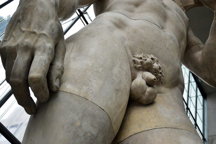 Museum der bildenden Künste Leipzig, Kopie des David von Michelangelo