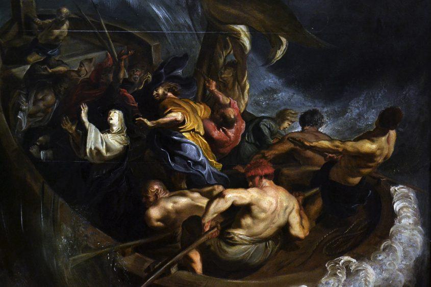Museum der bildenden Künste Leipzig, Peter Paul Rubens, Das Schiffswunder der heiligen Walburga