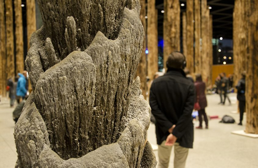 Neue Nationalgalerie, Festival of Future Nows, Jan Bünnig, Feuerstelle