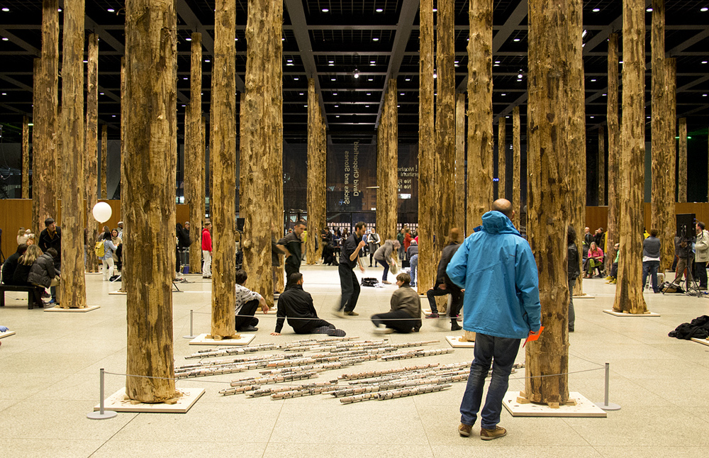 Neue Nationalgalerie, Festival of Future Nows, Julian Charrière, On the Sidewalk