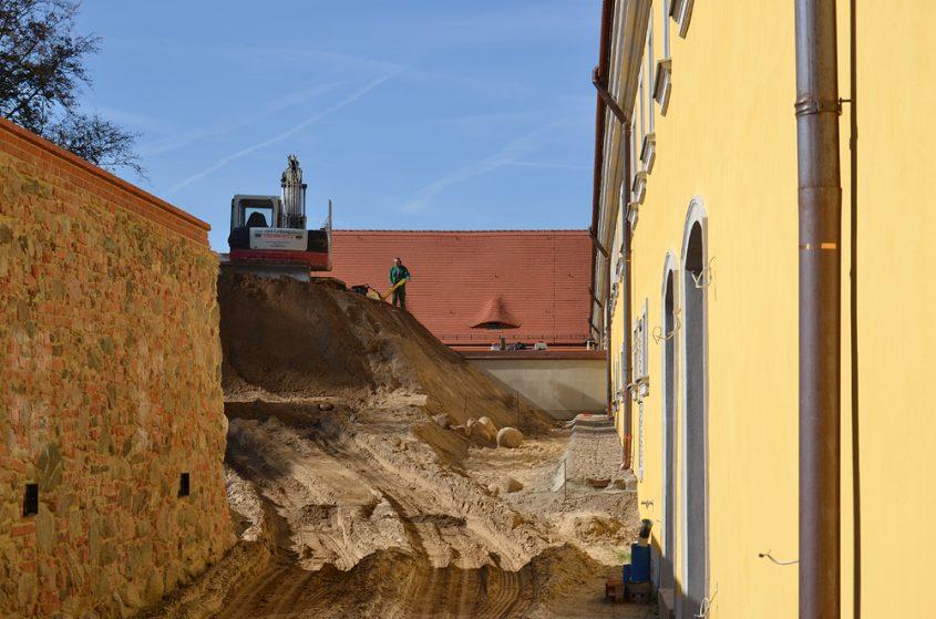 Kloster Neuzelle, Bauarbeiten für neues Museum