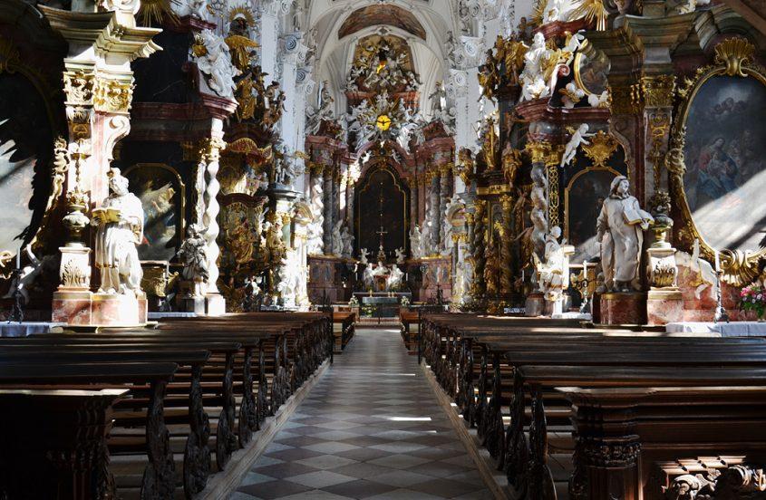 Kloster Neuzelle, Stiftskirche St. Marien,