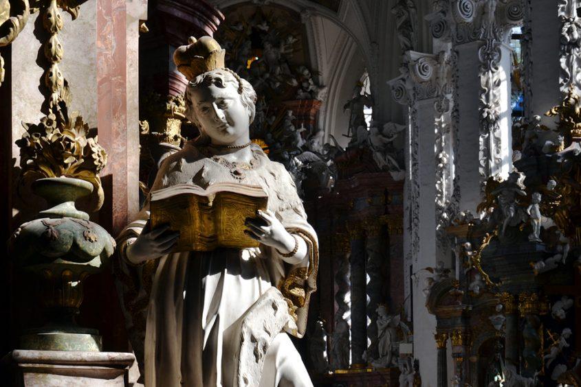 Kloster Neuzelle,Stiftskirche St. Marien, Hedwig von Schlesien, Altar der hl. Anna