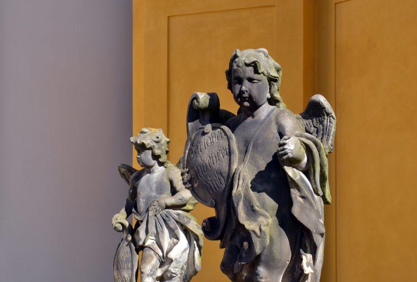 Kloster Neuzelle,Stiftskirche St. Marien, Engel