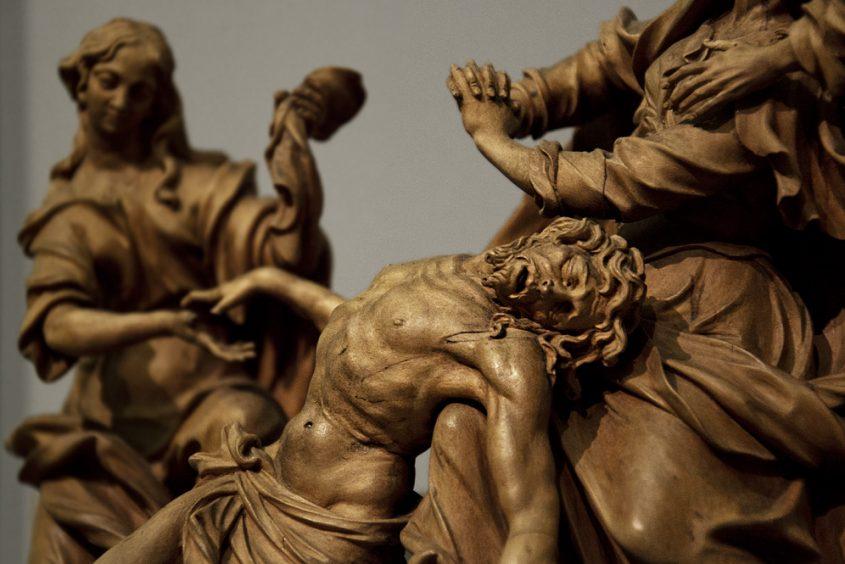 Bodemuseum, Berlin, Giovanni Giuliani Umkreis, Beweinung Christi