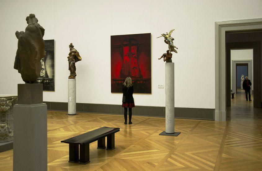 Bodemuseum, Berlin, Mark Alexander, Red Mannheim IV