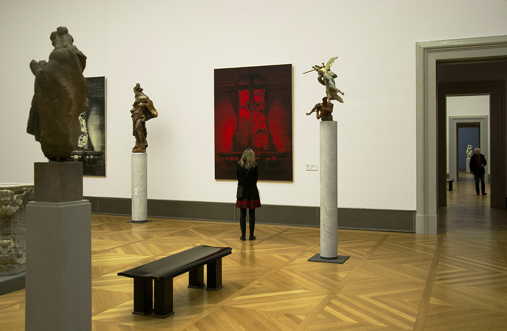 Bodemuseum, Berlin, Mark Alexander, Red Mannheim IV