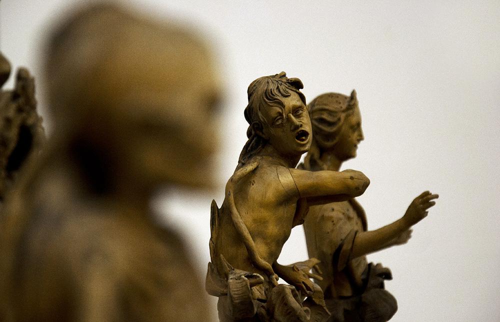 Bodemuseum, Berlin, Allegorie des ewigen Todes in der Hölle