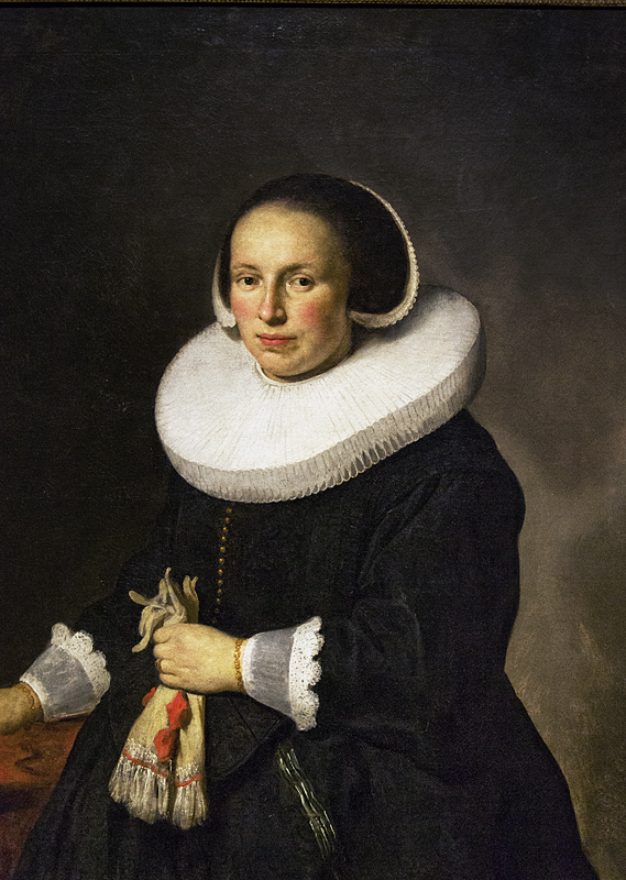 Hessisches Landesmuseum Darmstadt, Govert Flinck, Bildnis einer Dame