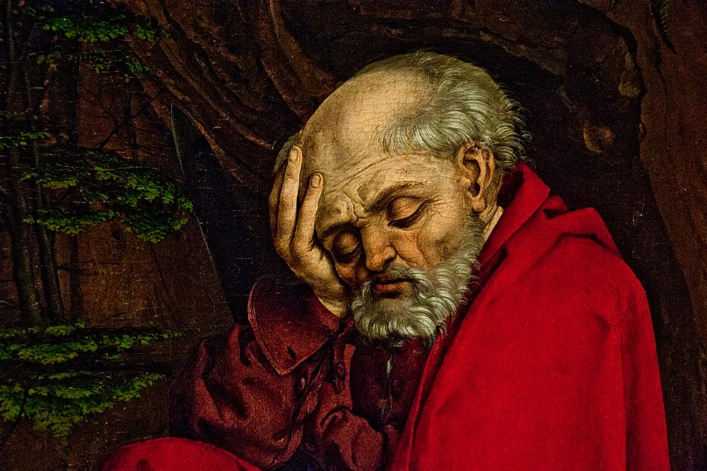 Hessisches Landesmuseum Darmstadt, Meister L. Cz.,Gebet Christi am Ölberg
