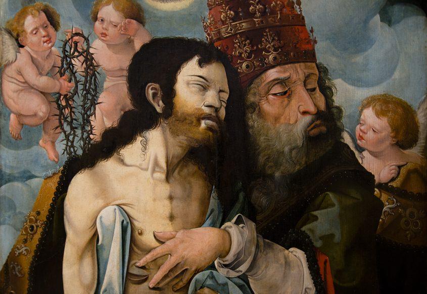 Hessisches Landesmuseum Darmstadt, Nürnberger Meister, Notgottes nach einem Stich von Dürer