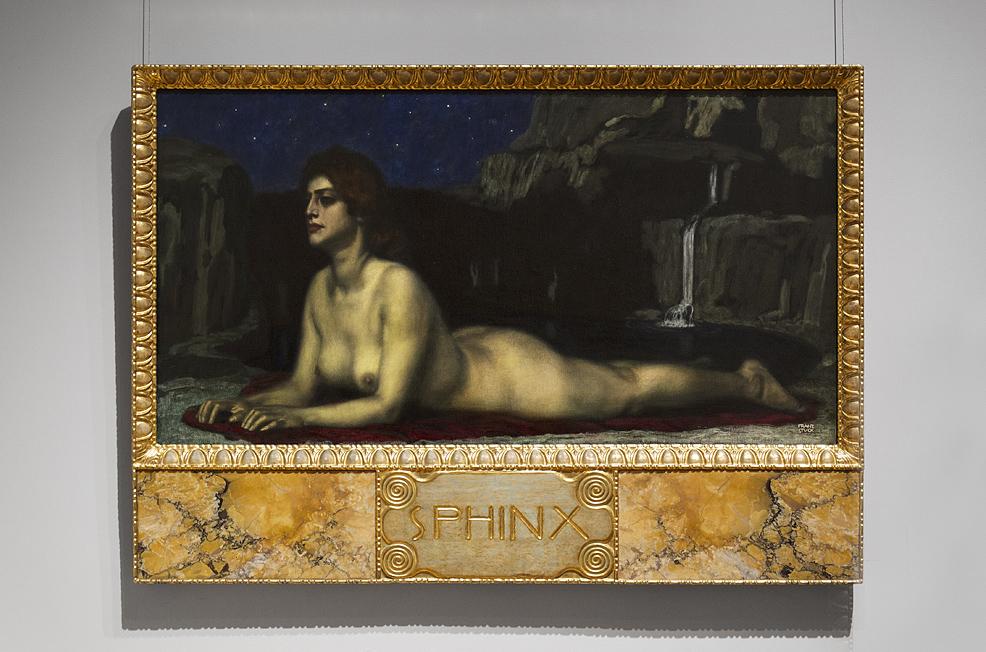 Hessisches Landesmuseum Darmstadt, Franz von Stuck, Sphinx