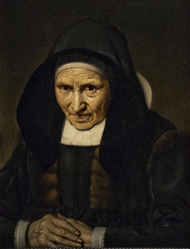 Hessisches Landesmuseum Darmstadt, Jost van Groin, Bildnis einer 83-jährigen Frau