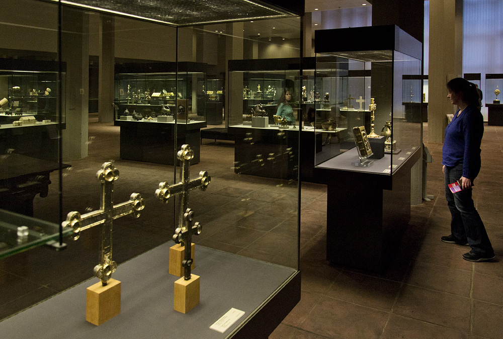Kunstgewerbemuseum Berlin, Mittelalter, Dionysiusschatz von Enger-Herford