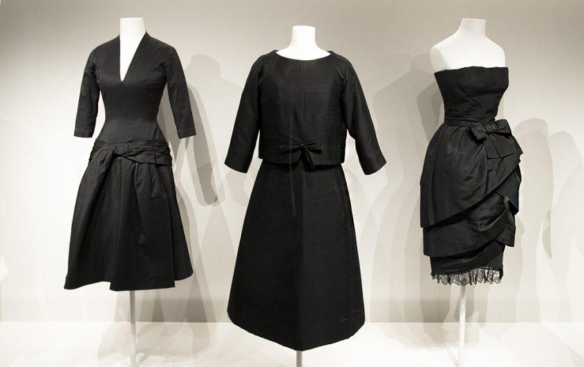 Kunstgewerbemuseum Berlin, Mode, Cocktail- und Abendkleider von Yves Saint Laurent / Dior und Cristóbal Balenciaga