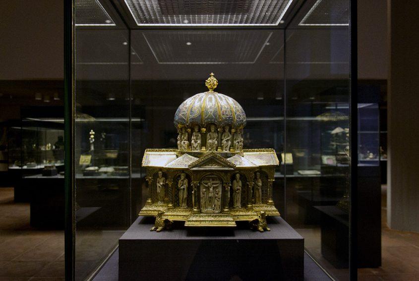 Kunstgewerbemuseum Berlin, Kuppelreliquiar aus dem Welfenschatz
