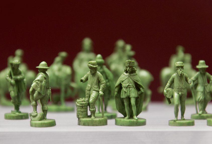Kunstgewerbemuseum, Berlin, Schachfiguren aus dem Pommerschen Kunstschrank