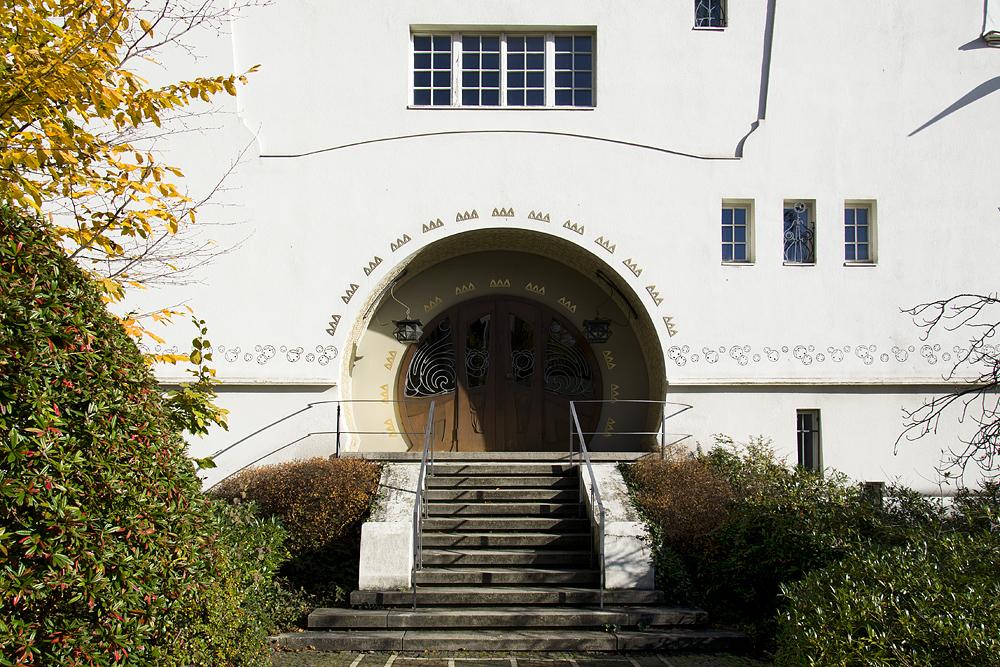 Mathildenhöhe, Künstlerkolonie Darmstadt, Großes Glückerthaus