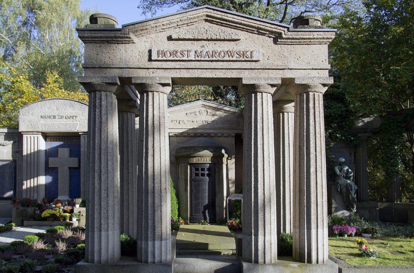 Friedhof Berlin Wilmersdorf, Grabstätte von Dincklage (Horst Marowski)