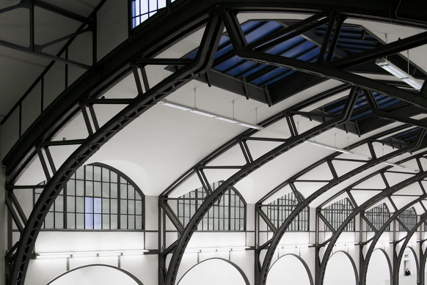 Hamburger Bahnhof, Berlin, Historische Halle