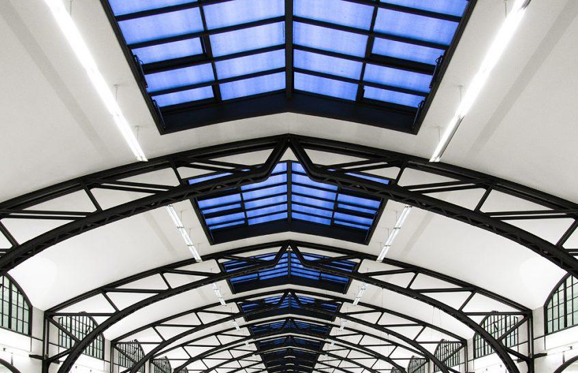 Hamburger Bahnhof, Berlin, Dach, Historische Halle