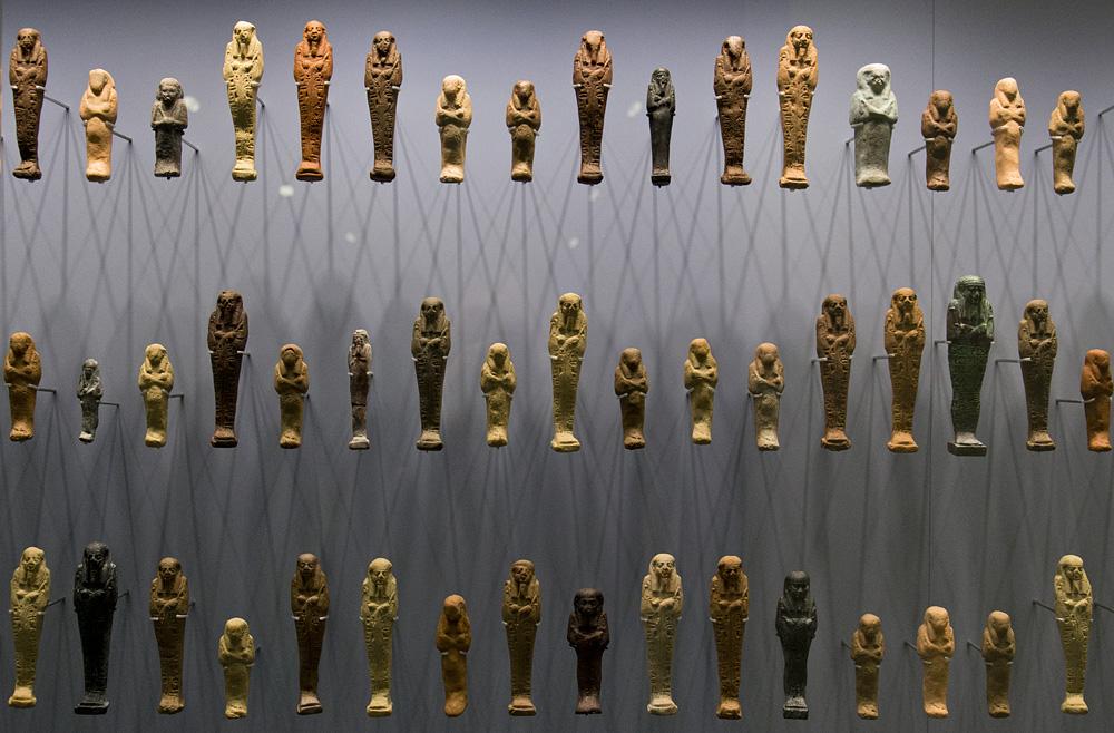 Hessisches Landesmuseum Darmstadt, Uscheptis aus Ägypten