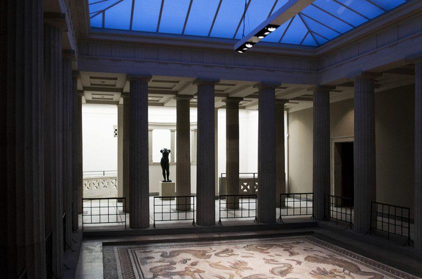 Hessisches Landesmuseum Darmstadt, Römisches Mosaik Bad Vilbel