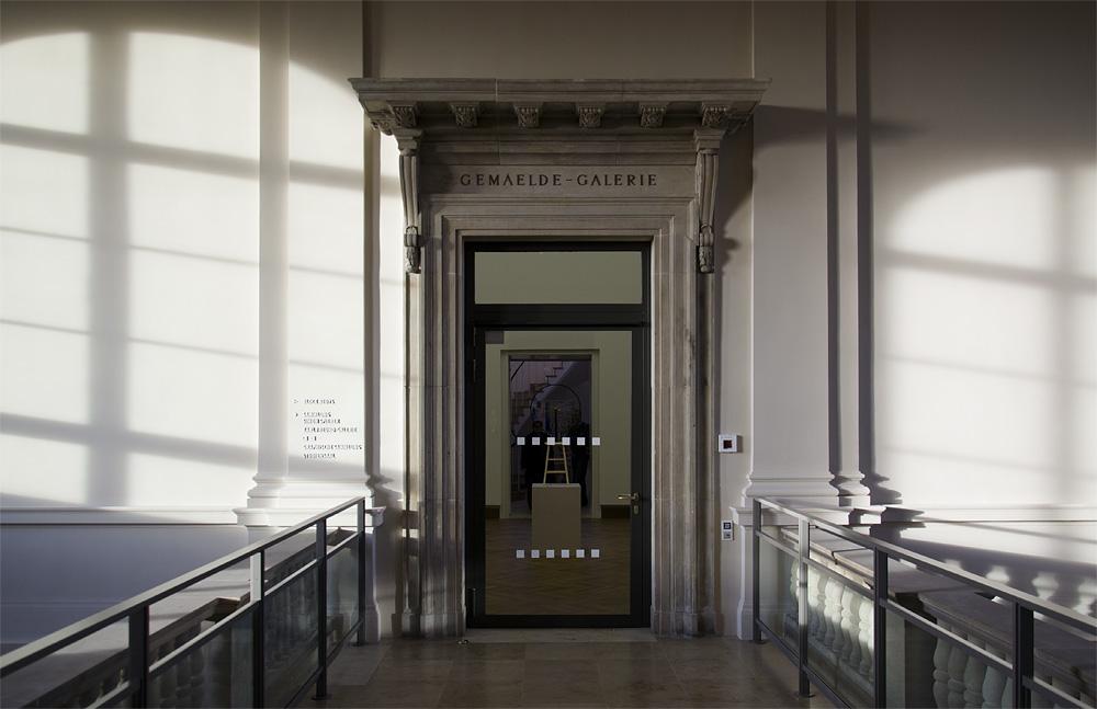 Hessisches Landesmuseum Darmstadt, Treppenhaus