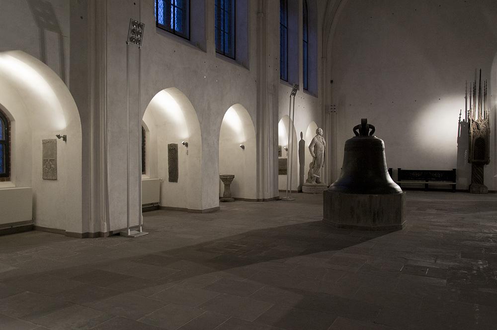Märkisches Museum Berlin, Große Halle, Glocke aus Wilsnack