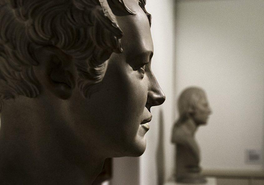 Märkisches Museum Berlin, Christian Daniel Rauch, Porträt Alexander von Humboldt (Abguss)