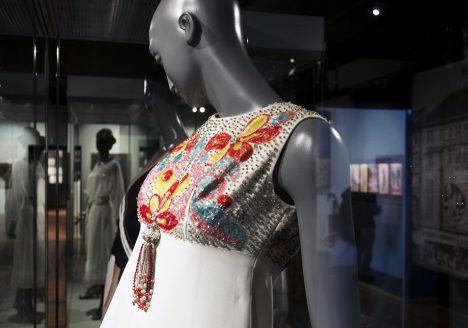 Märkisches Museum Berlin, Abendkleid von Werner Machnik
