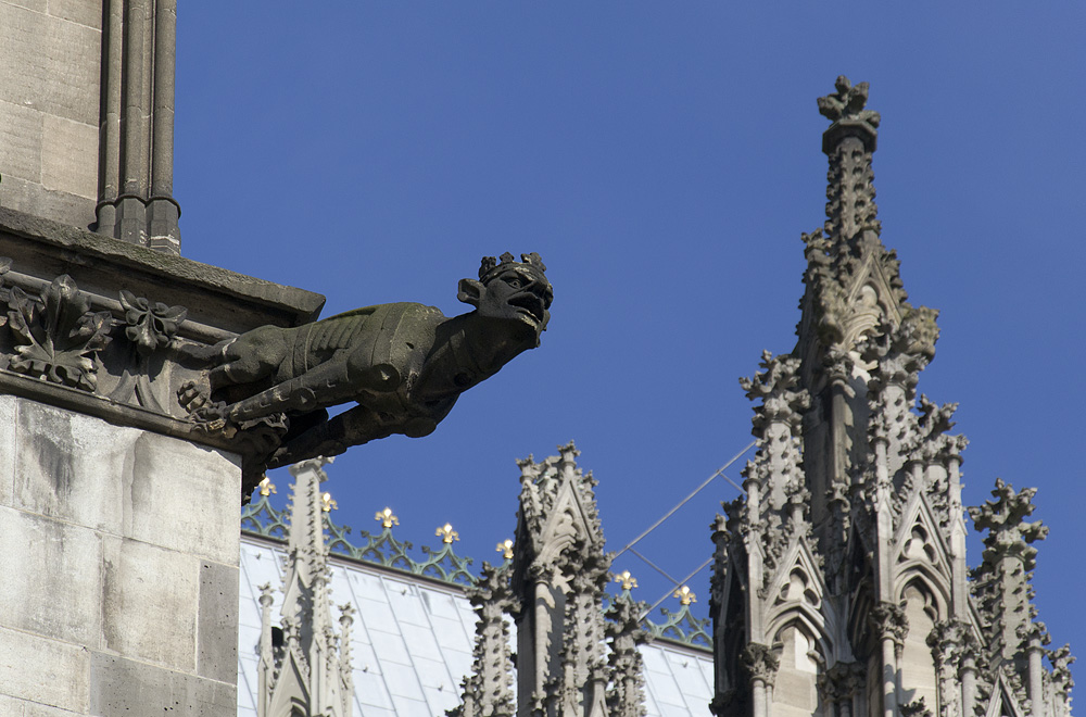 Kölner Dom, Wasserspeier