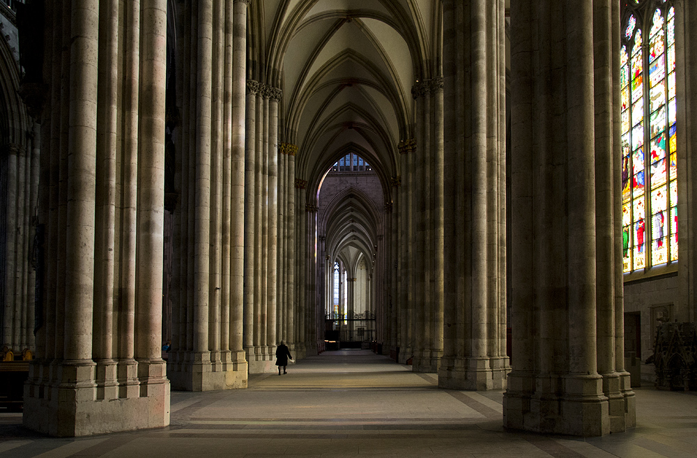 Kölner Dom, Südliches Seitenschiff