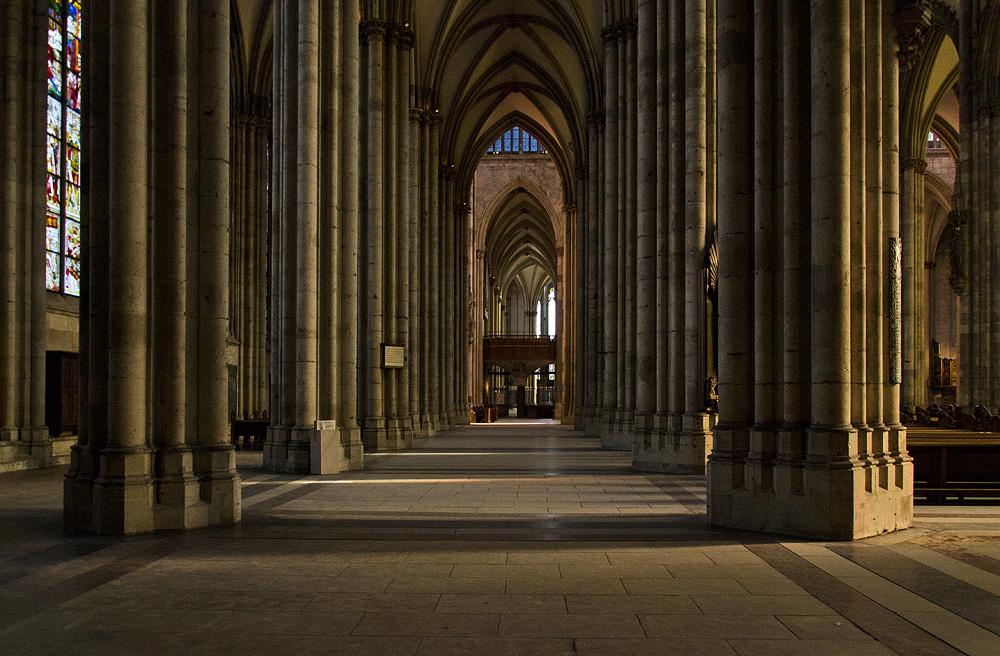 Kölner Dom, Nördliches Seitenschiff