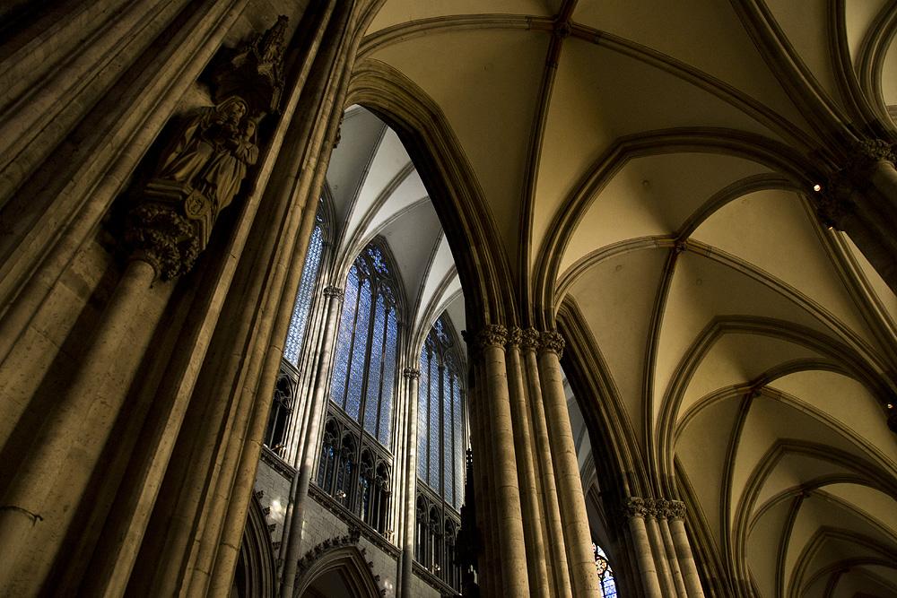 Kölner Dom, Deckengewölbe