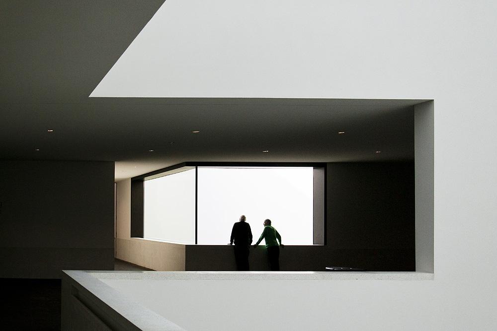 Münster, LWL-Landesmuseum für Kunst und Kultur, Neubau, Foyer, Staab Architekten