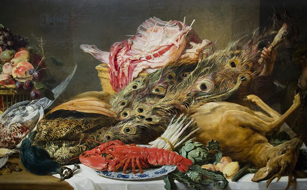 Münster, LWL-Landesmuseum für Kunst und Kultur, Frans Snyders, Stillleben mit Fleischkorb