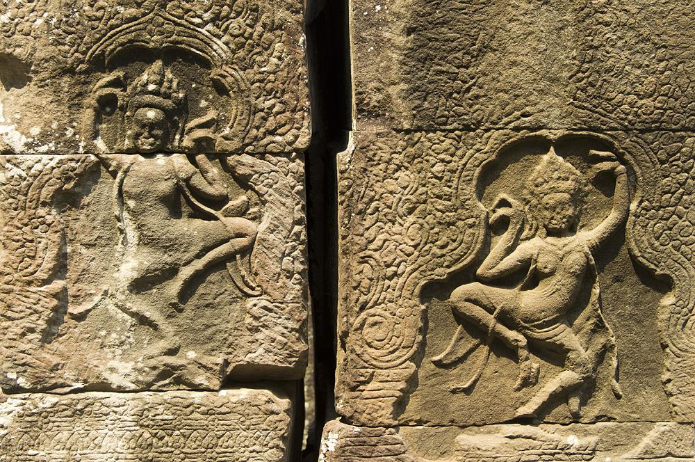 Angkor, Banteay Kdei, Apsaras