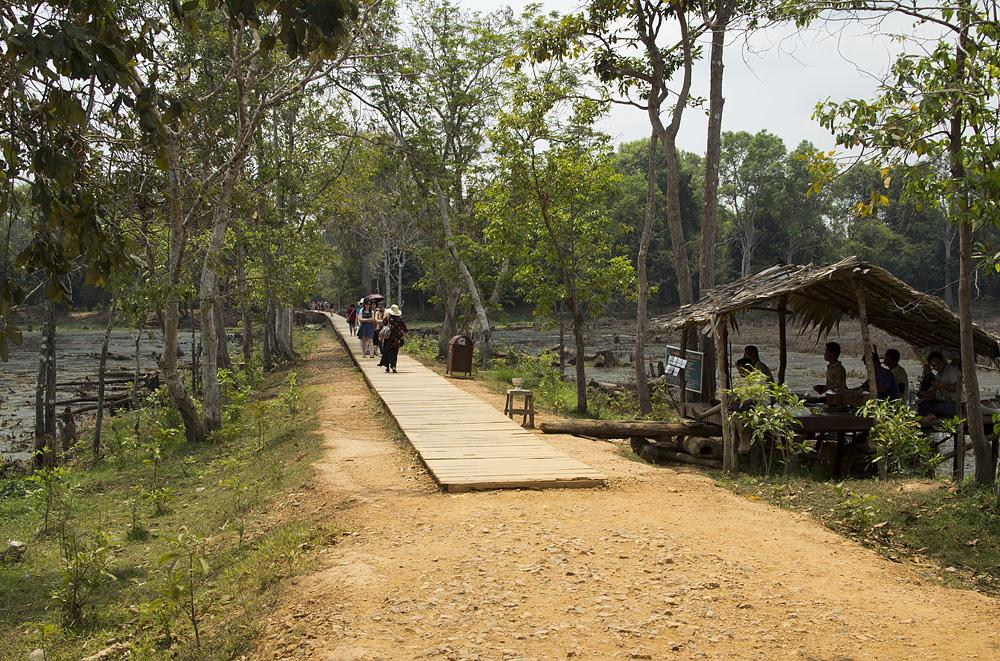Angkor, Steg zum Neak Pean
