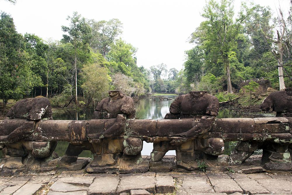 Angkor, Brücke nach Preah Khan