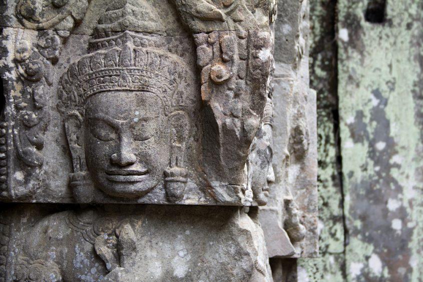 Angkor, Preah Khan, Buddhas