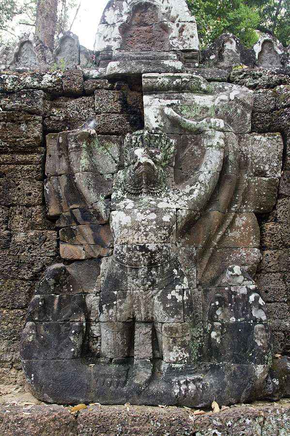 Angkor, Preah Khan, Garduda