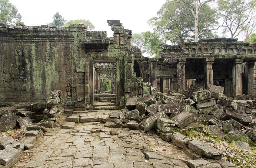 Angkor, Preah Khan, Torbogen