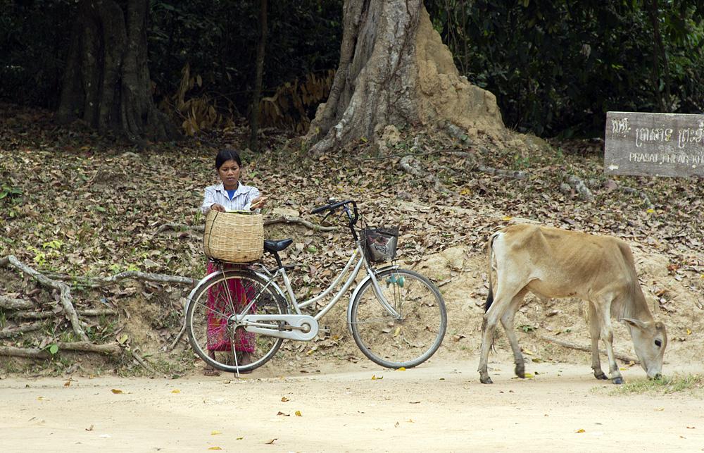 Angkor, Fahrrad
