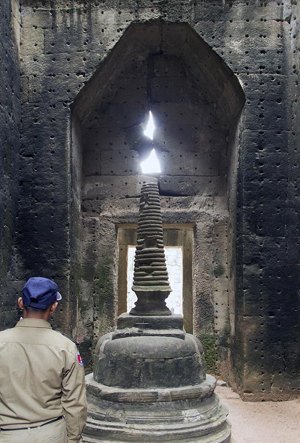 Angkor, Preah Khan, Stupa