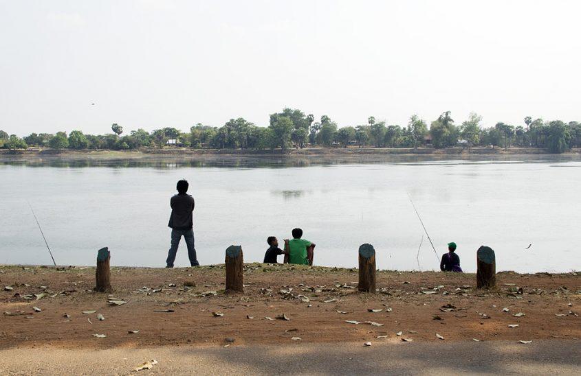Angkor, Srah Srang, Angler
